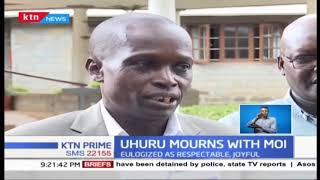 President Uhuru Kenyatta made clear promise to Retired President Daniel arap Moi