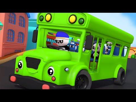 Wheels On The Bus Nursery Rhymes 3D Rhymes Kids Songs Baby Rhyme
