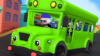 Wheels On The Bus Nursery Rhymes 3D Rhymes Kids Songs Baby Rhyme