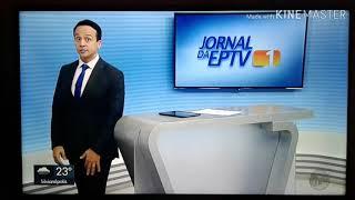 Encerramento do EPTV 1 com a despedida de Rodrigo Amâncio- EPTV Sul de Minas