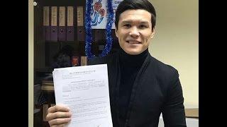 Данияр Елеусинов перешел в профессиональный бокс