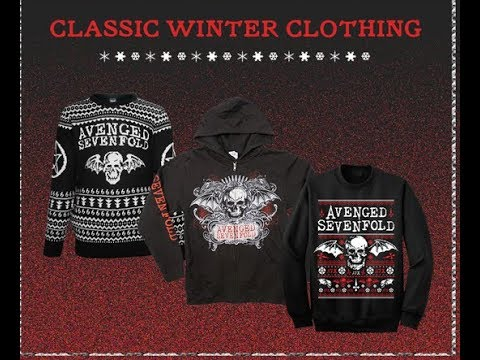 Avenged Sevenfold Christmas sweaters and stocking stuffers new available..!
