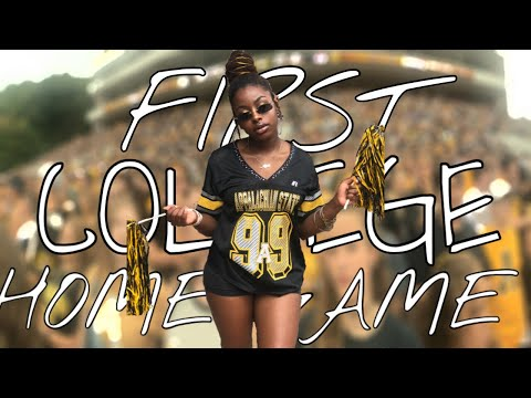 FIRST COLLEGE HOME GAME VLOG | APPALACHIAN STATE UNIVERSITY