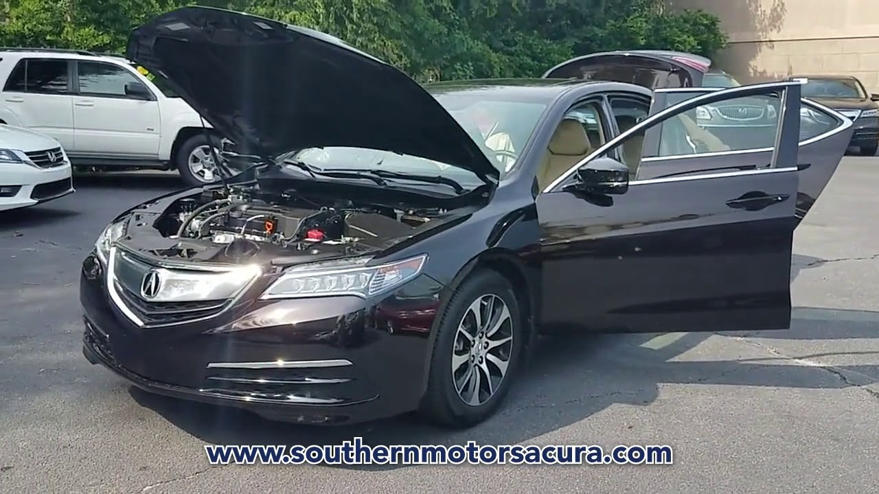 Southern Motors Acura >> Used 2017 Acura Tlx Fwd W Technology Pkg At Southern Motors Acura