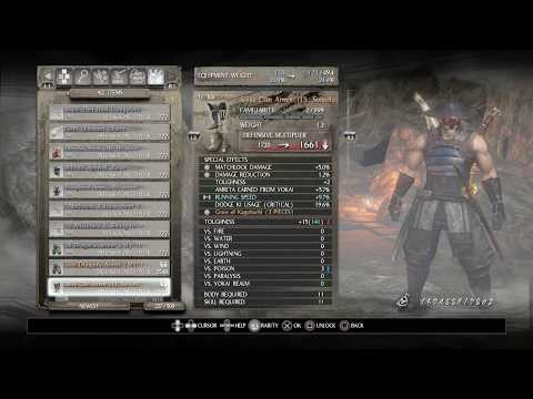 Nioh: Farming Masamune for Defiled and Unique items