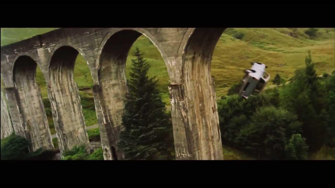 Harry Potter  Flying Car Scene