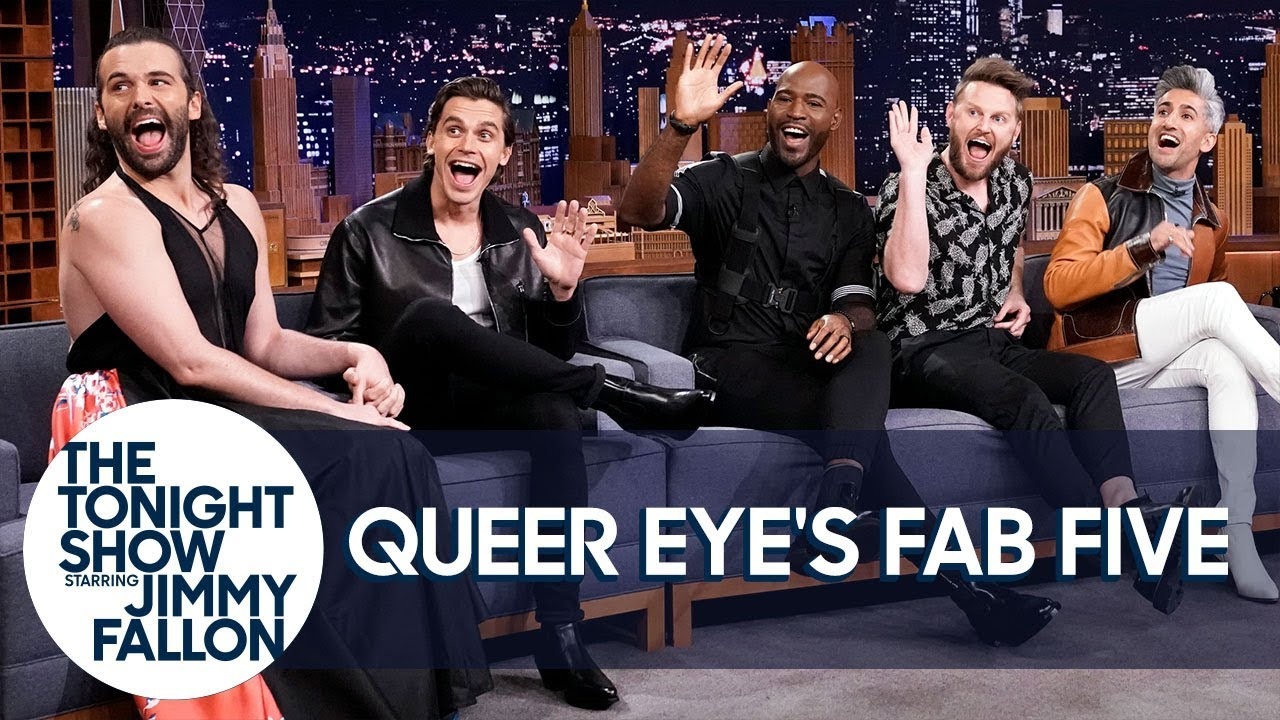 [VIDEO] - Queer Eye's Fab Five's Most Embarrassing Hair and Fashion Mistakes 6