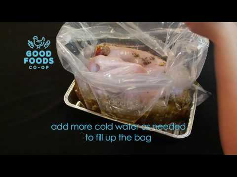 Good Foods Turkey Brining Guide