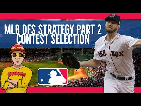 Daily Fantasy Sports MLB STRATEGY #2⚾️ Baseball CASH GAMES, SINGLE ENTRY Strategy, Contest Selection