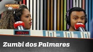 Fernando Holiday e Adriana Moreira divergem a respeito de Zumbi dos Palmares