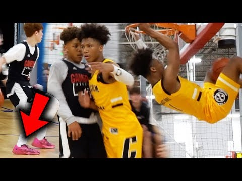 #1 Mikey Williams CLOWNS BBB Wearing Team! Compton Magic 15U GOES OFF!