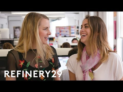 5-Minute Desk Organization With Lucie Fink! | Bea Organized | Refinery29