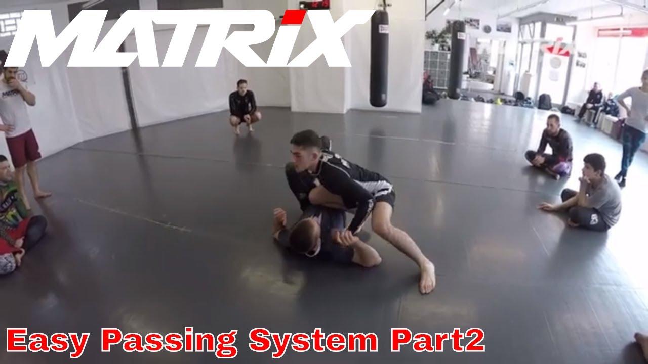 Easy and effective Jiu Jitsu Guardpassing System - ADCC Mini Seminar by Bruno Amaddeo - Part 2
