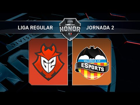 Valencia CF eSports vs G2 Vodafone - #LoLHonor4 - Mapa 2 - Jornada 4 - T11