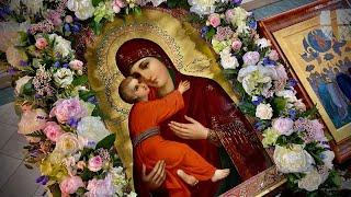 Божественная литургия в праздник в честь Владимирской иконы Божией Матери