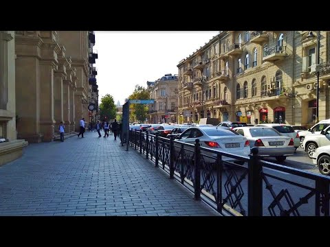 Baku City Center 2019 | Walking Tour