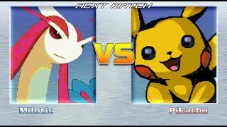 Milotic (Vore) vs Pikachu