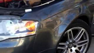 how to install an hid kit on an audi