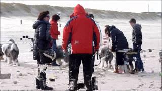 Strandwandeling Nieuwvliet Bad Februarie 2012