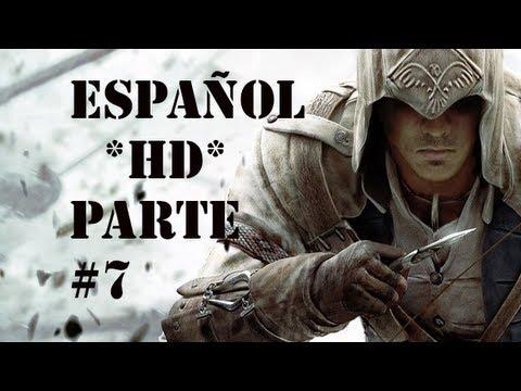 Assassin's Creed 3   Parte 7 Español * HD *   GUIA Walkthrough/Gameplay (XBOX 360/PS3/PC)