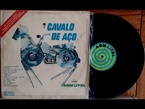 Cavalo de Aço - Trilha Sonora Internacional - (Vinil Completo - 1973) - Baú Musical