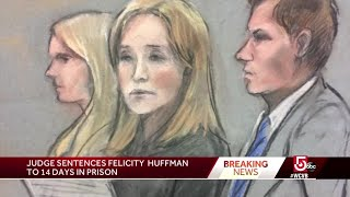 Felicity Huffman gets 2 weeks in jail
