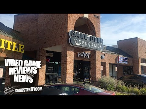 Game Over Videogames Store In Austin, TX  - Gamester81