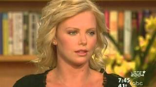 Charlize Theron interview   GMA  Jan. 8th, 2004
