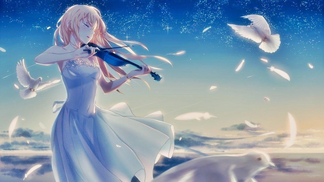 1 hour sad anime music beautiful piano bgm youtube - Depressing anime pictures ...