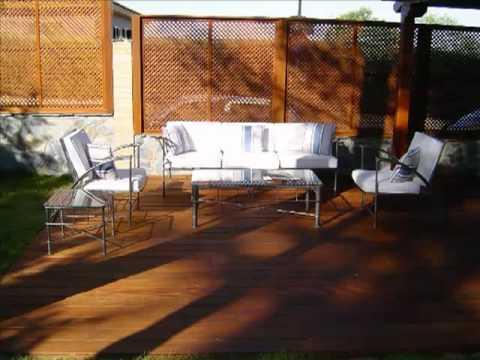 Madera Exterior Qué Es Un Deck Un Deck Es Una Terraza De Madera Que