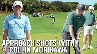 Collin Morikawa Gives Fore Play A Short Game Lesson