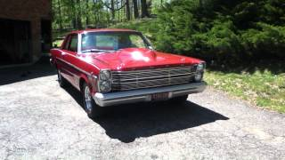 "1966 ford galaxie Custom 500 ""Doug Headers"" Electric cut outs"