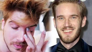 PewDiePie Stalker, YouTuber CRIES Over TRUMP Winning, Leafy Shows His A**, FaZe Banks