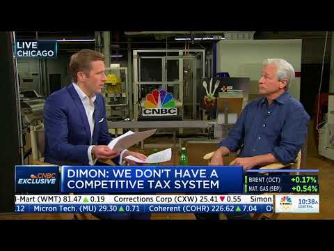 Wilfred Frost sits down with JPMorgan Chase CEO Jamie Dimon
