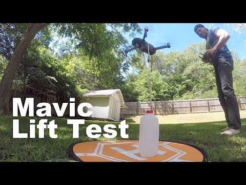 How much can the Mavic Pro Lift