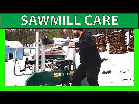 Woodland Mills HM130 Bandsaw Sawmill TLC and Maintenance