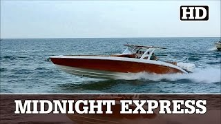 Midnight Express 43 Open Rocks into Haulover