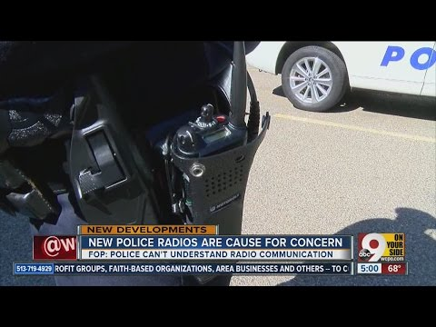New Motorola radios for Cincinnati Police Department are cause for concern