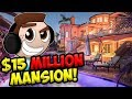 $15,000,000 MEGA MANSION - Indoor BOWLING, THEATRE, and MORE! (ErnieC3 Vacation)