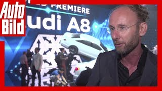 Audi A8 (2017) Interview mit Design-Chef Marc Lichte
