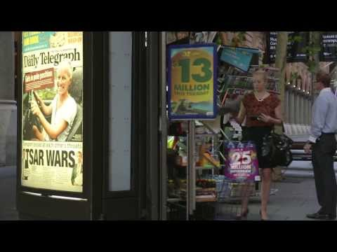 JCDecaux Australia: Daily Postings Close to Newsstands