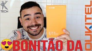 SMARTPHONE MAIS BONITO DA MARCA - UNBOXING OUKITEL U11 PLUS
