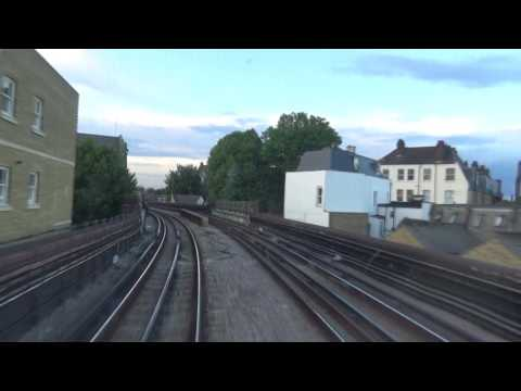 London Underground Cab Ride from Wimbledon to Tower Hill
