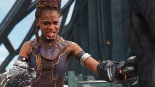 T'challa saves Shuri