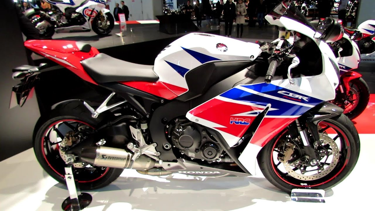2014 Honda CBR1000RR Fireblade eC-ABS Walkaround - Debut at 2013 ...
