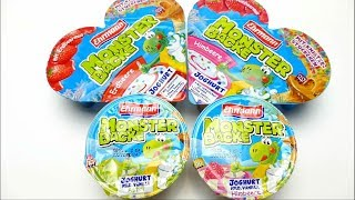 MONSTER BACKE Yogurt Special Edition Strawberry and Raspberry Fruit Fun