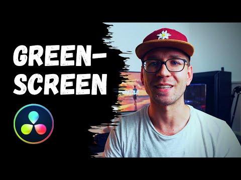 GREEN SCREEN in