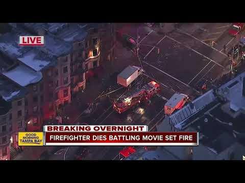 Firefighter Dies Responding to harlem