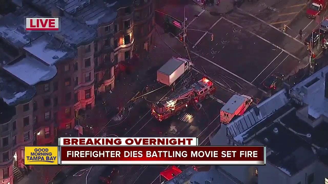 Firefighter dies battling blaze on set of film directed by Edward Norton