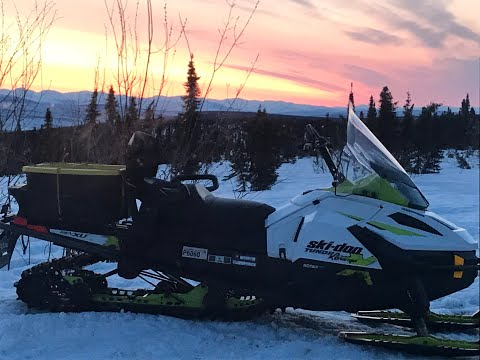 Skidoo Tundra Extreme 600 E-TEC Engine Quick Look!